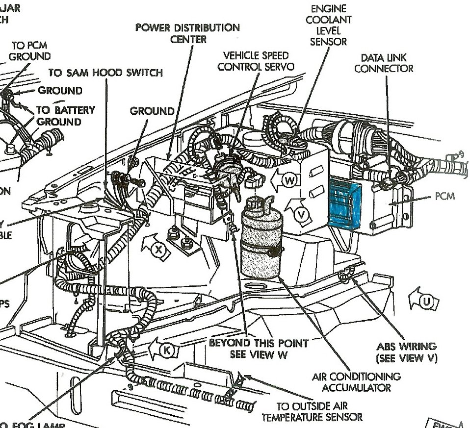 7o8ne Grand Cherokee 93 Jeep Grand Cherokee 4 0l on 2006 jeep grand cherokee transmission diagram