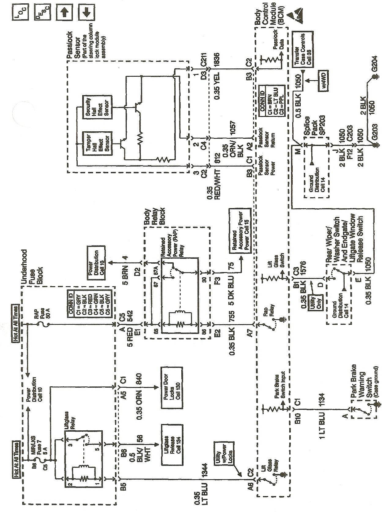 i need a bcm module wiring diagram for a 20056 chevy