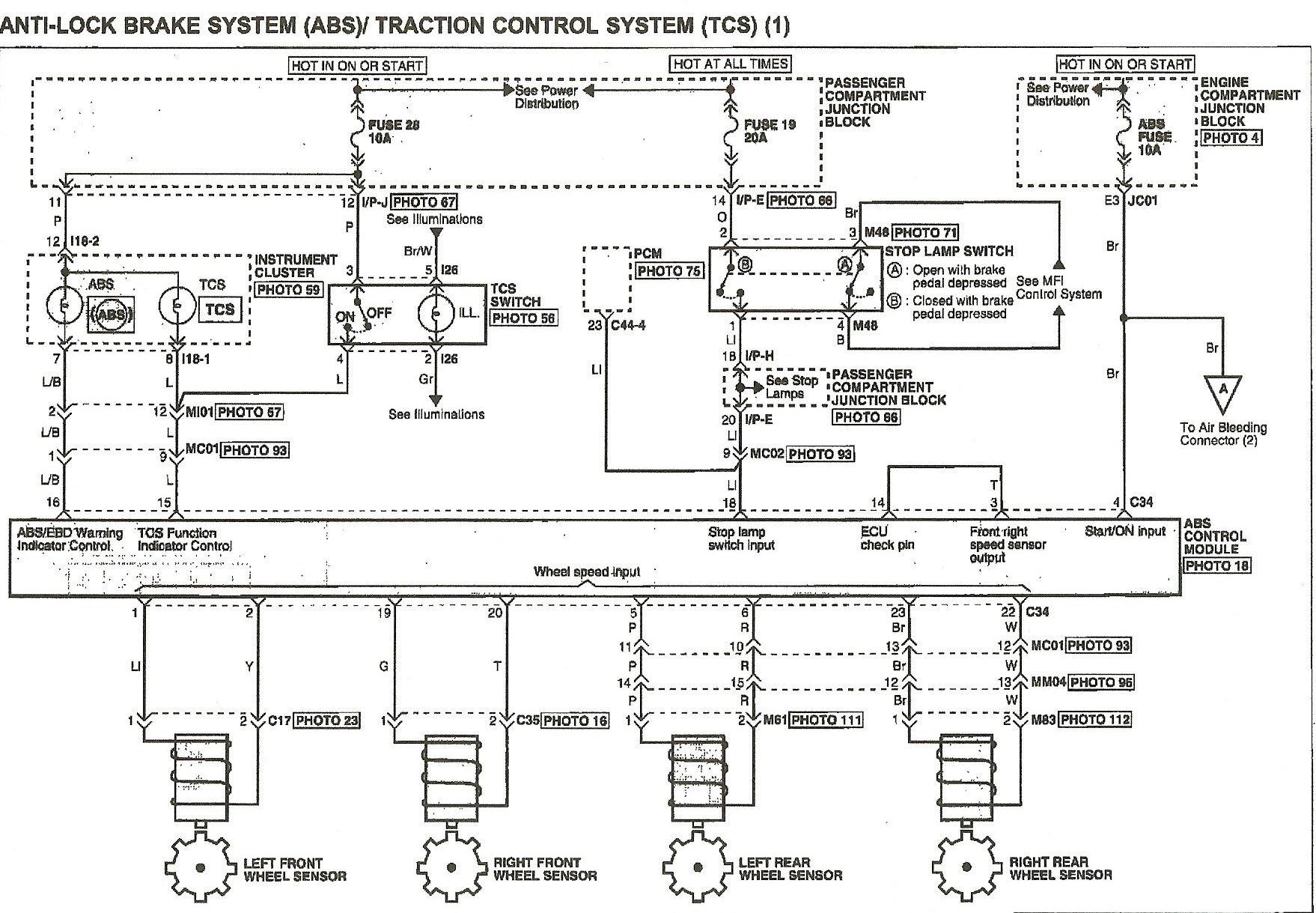 2005 hyundai xg350 wiring diagrams i have a 2005 hyundai xg350 with traction control problems ... #11