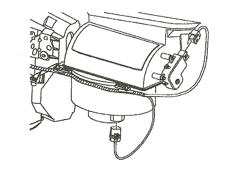 blower motor under hood