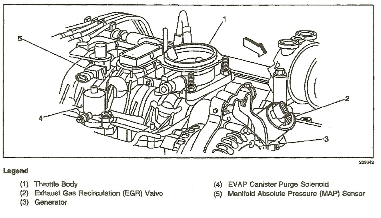 2000 Ford Mustang Purge Valve Location on 1996 gmc sonoma vacuum line diagram