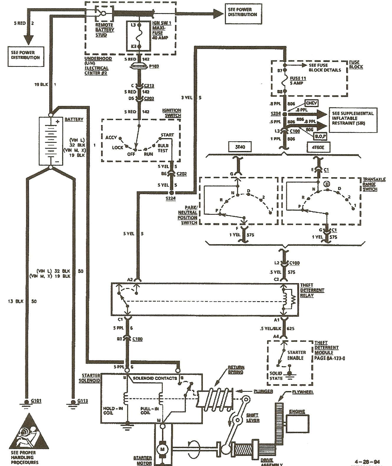 oldsmobile lss wiring diagram