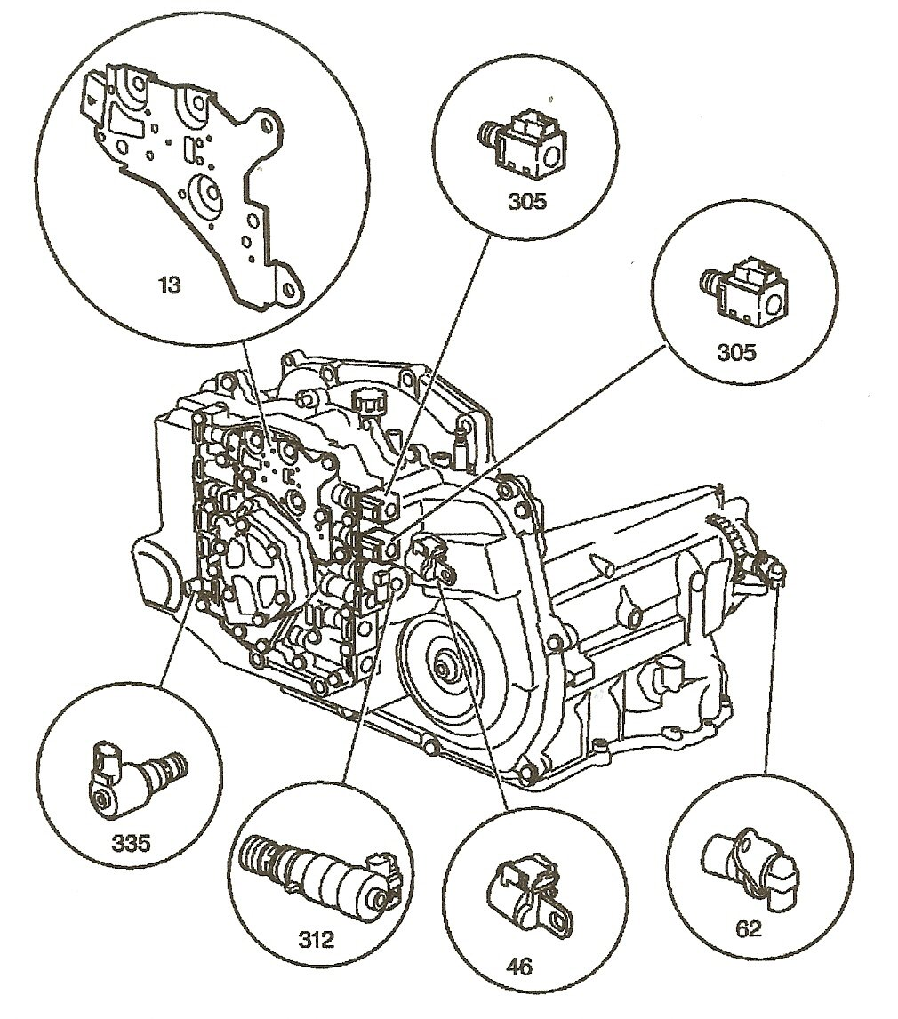chevrolet bu where is the transmission speed sensor on full size image