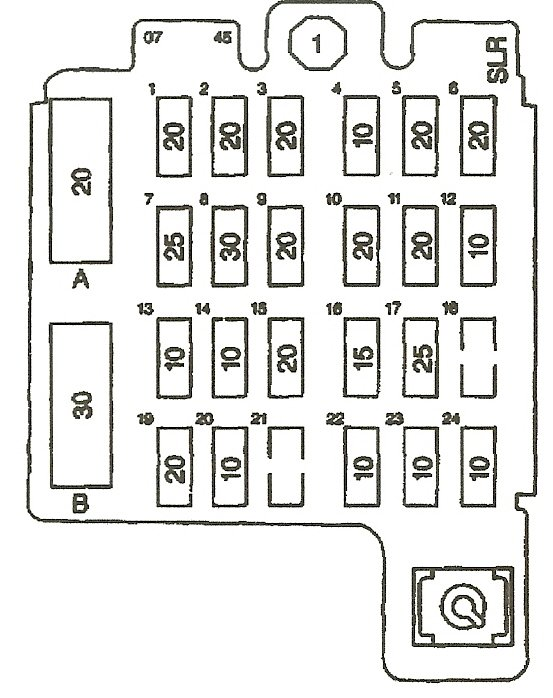 Schematics And Diagrams  Power Window Fuse Location For