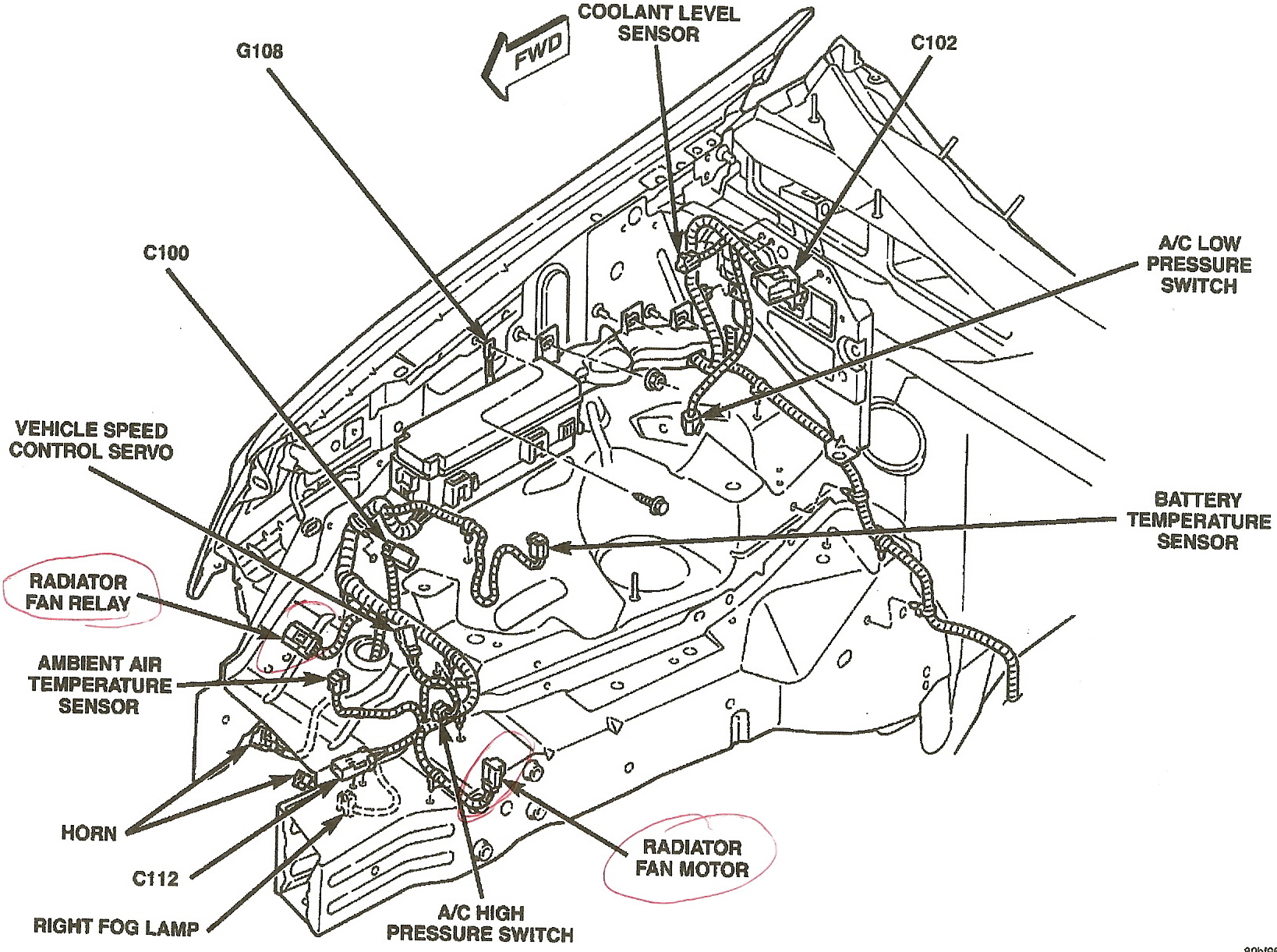 jeep wrangler radiator diagram  jeep  free engine image