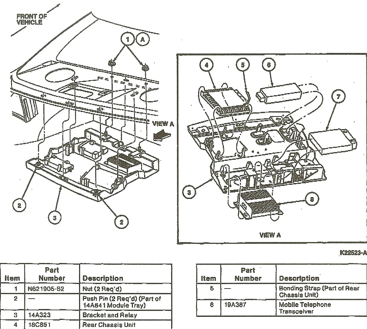 fuse box diagram for 1999 lincoln town car  fuse  free