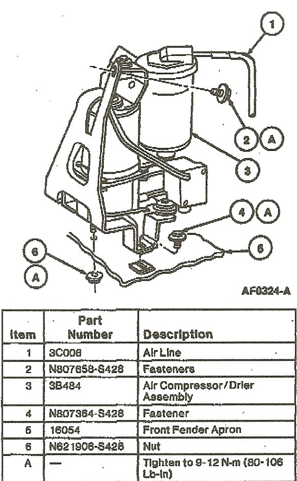 Howtorepairguide Com  How To Test Air Suspension On 1993