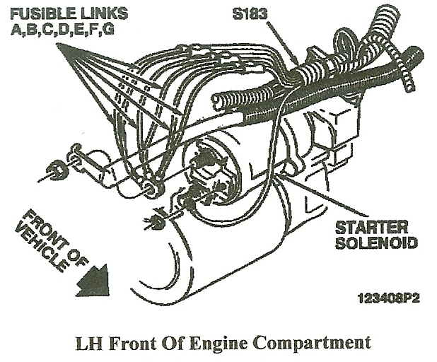 fusible link location corvette  fusible  free engine image for user manual download