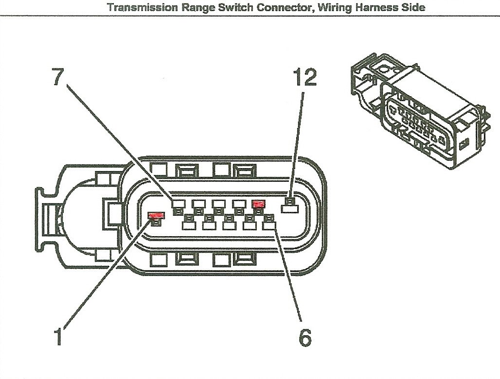 96 chevy tahoe neutral safety switch wiring diagram  96