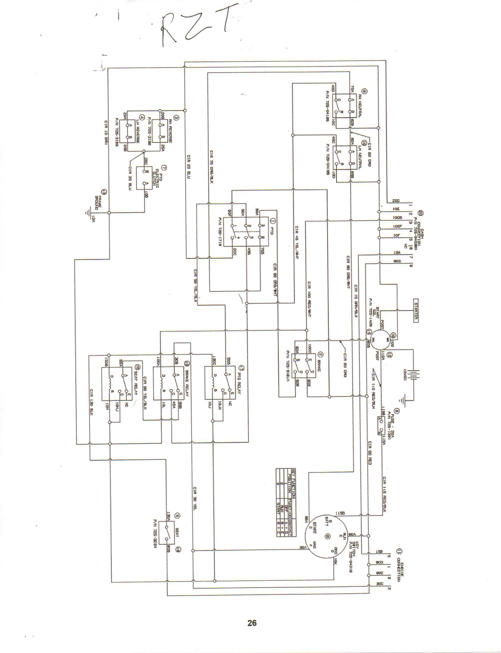 wiring diagram for cub cadet the wiring diagram wiring diagram for cub cadet rzt 22 wiring wiring diagrams wiring diagram