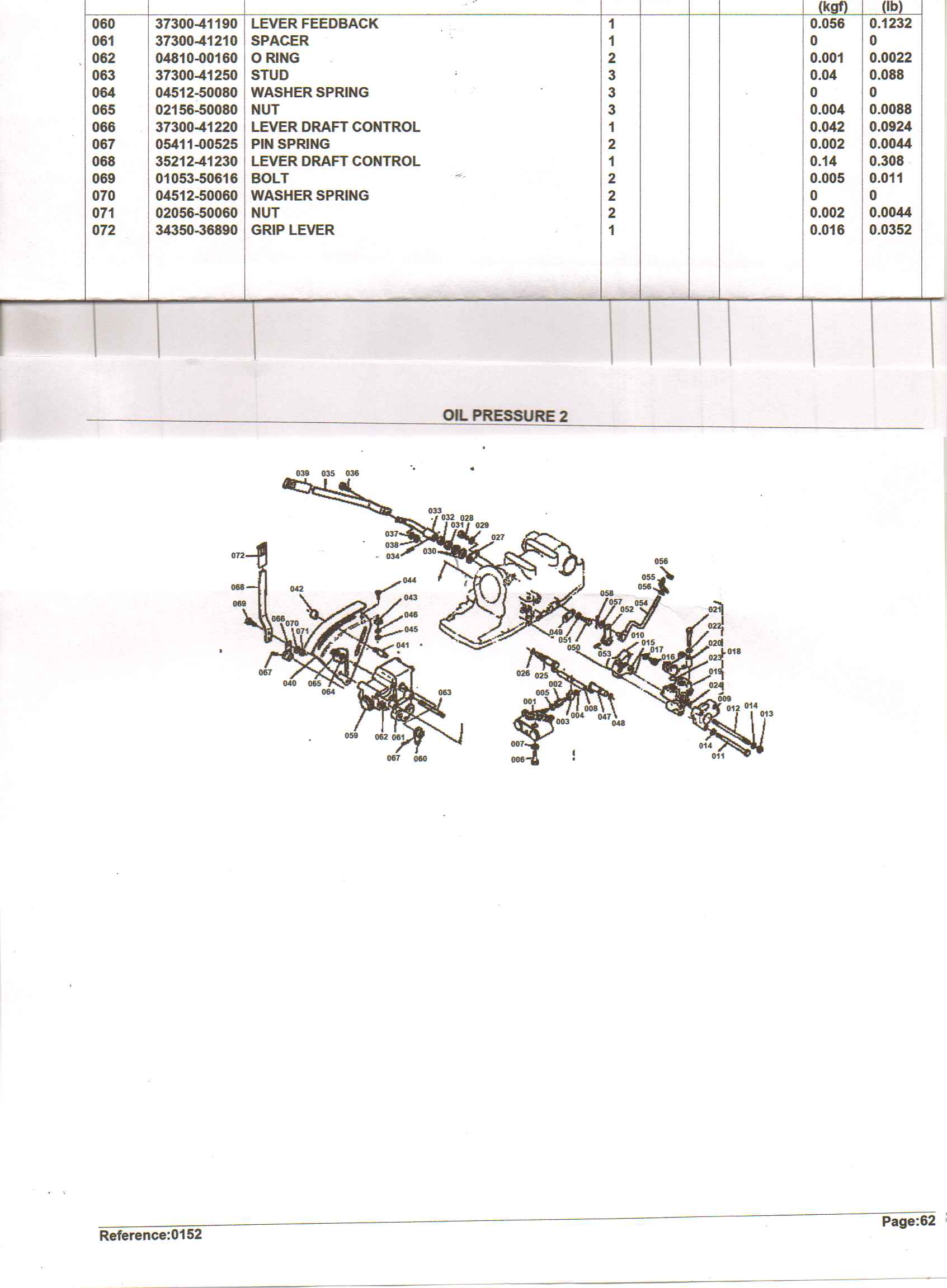 I Have A Kubota L345 The Hydraulic Lift Was Working Fine