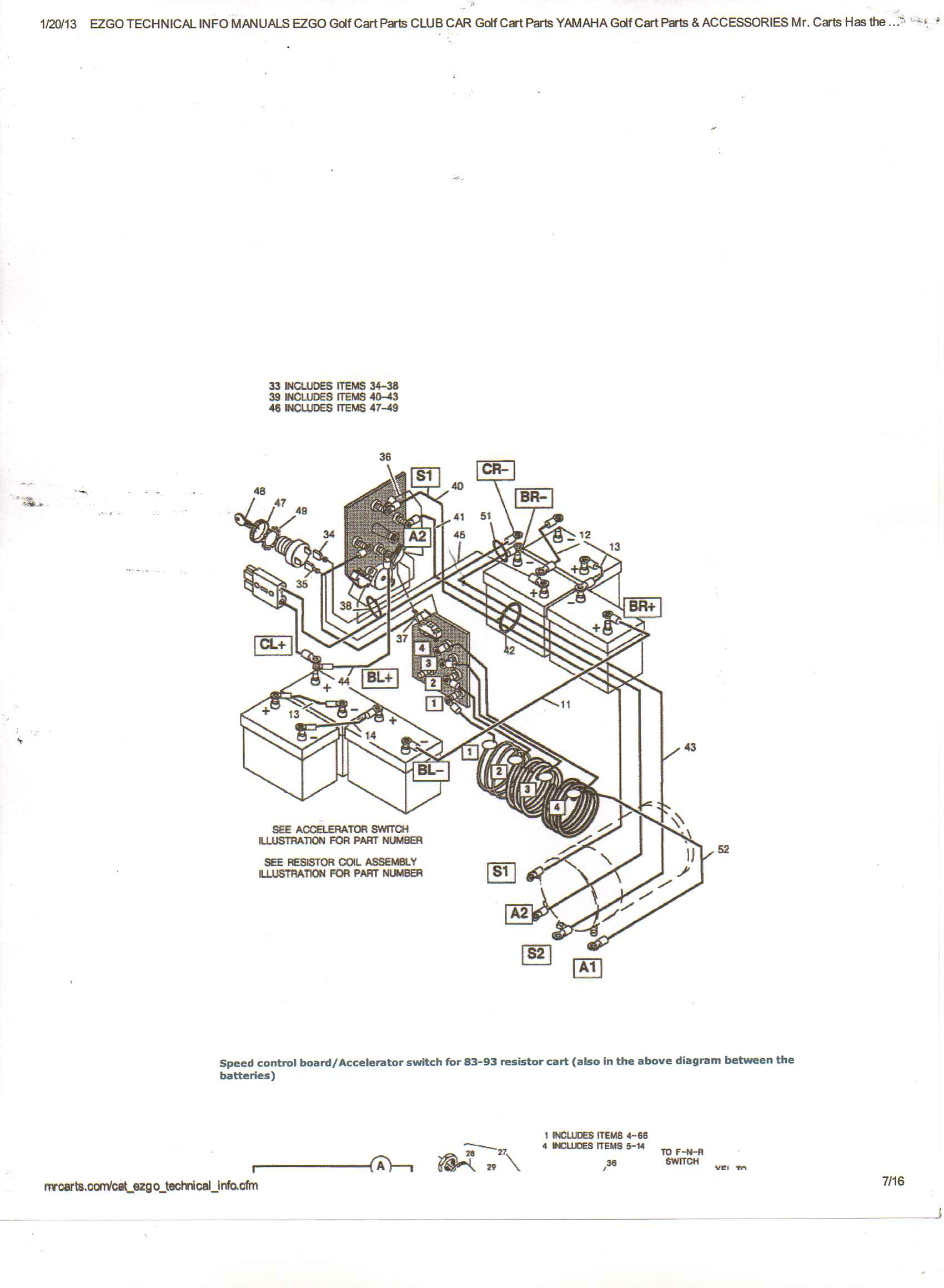 1989 Ez Go Gas Golf Cart Wiring Diagram 1989 ez go gas golf cart – 1994 Club Car Wiring Diagram