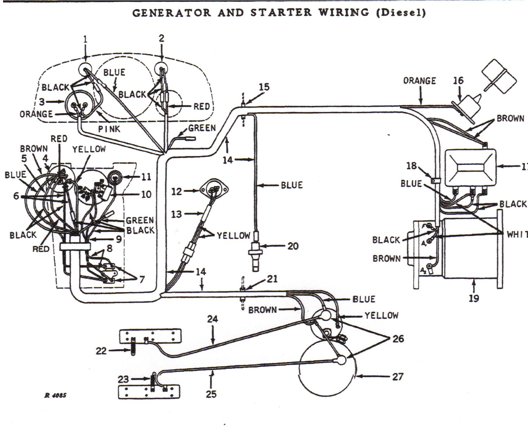 john deere 4030 wiring diagram i have a jd 4030 diesel that will not start. has new ...