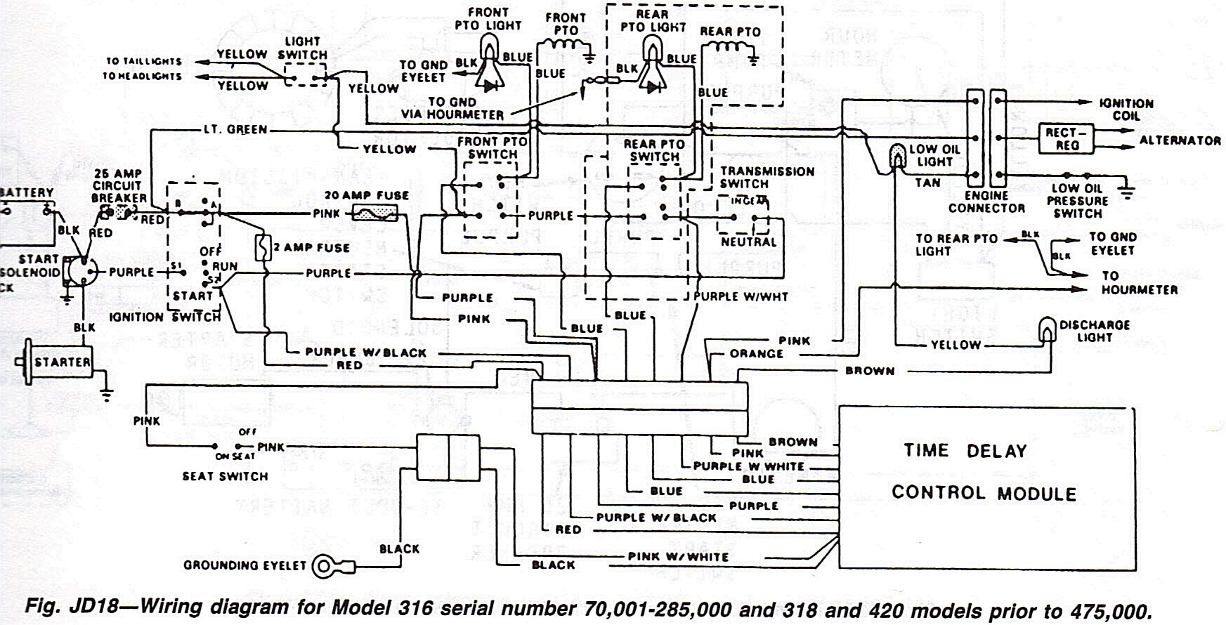John Deere 318 Wiring Diagram on john deere wiring schematics
