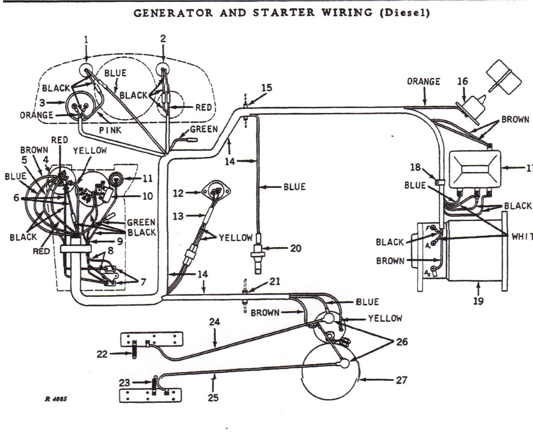 john deere 4010 wiring diagram