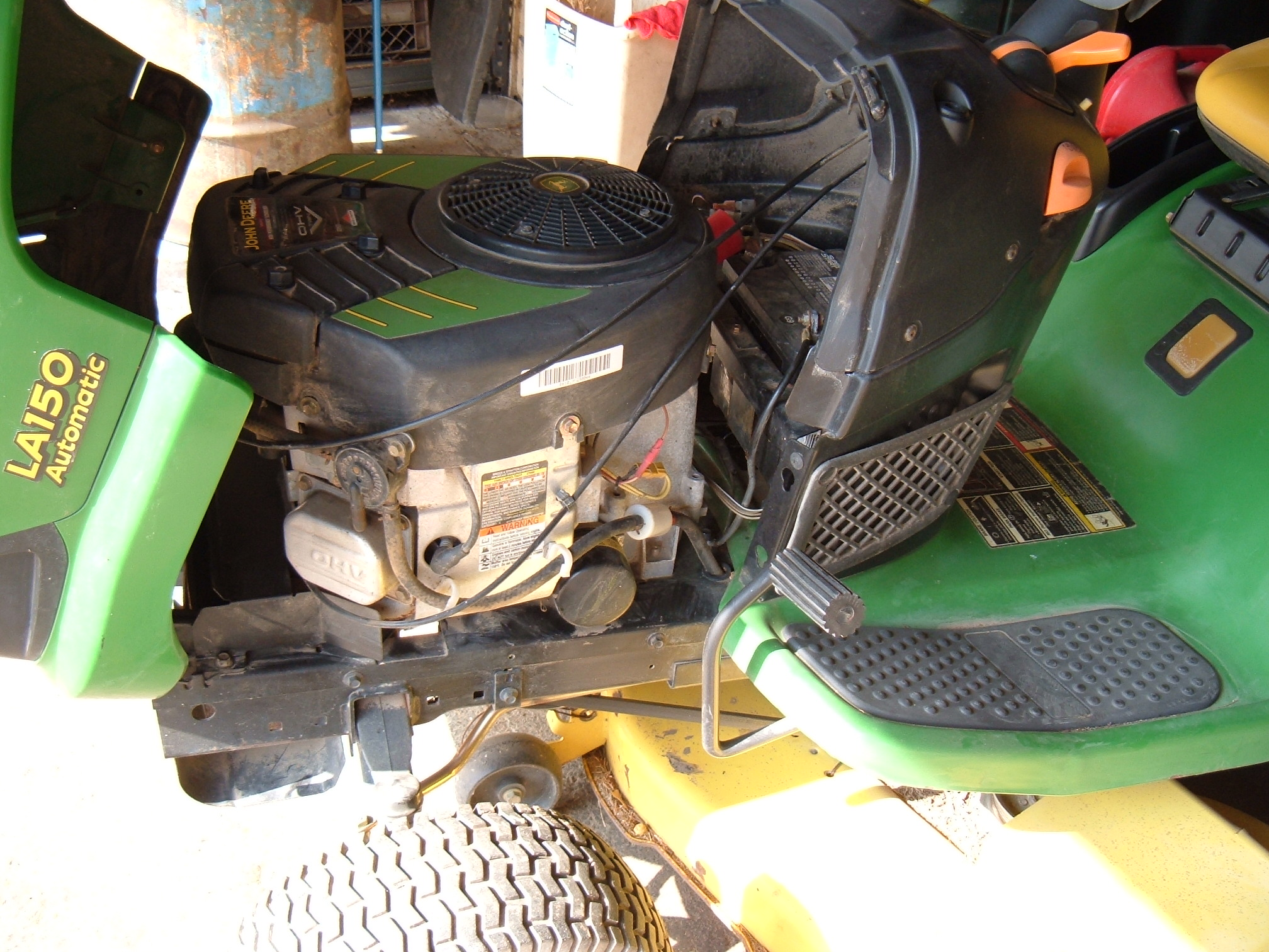 i have a deere la145 with about 130 hours  at the end of