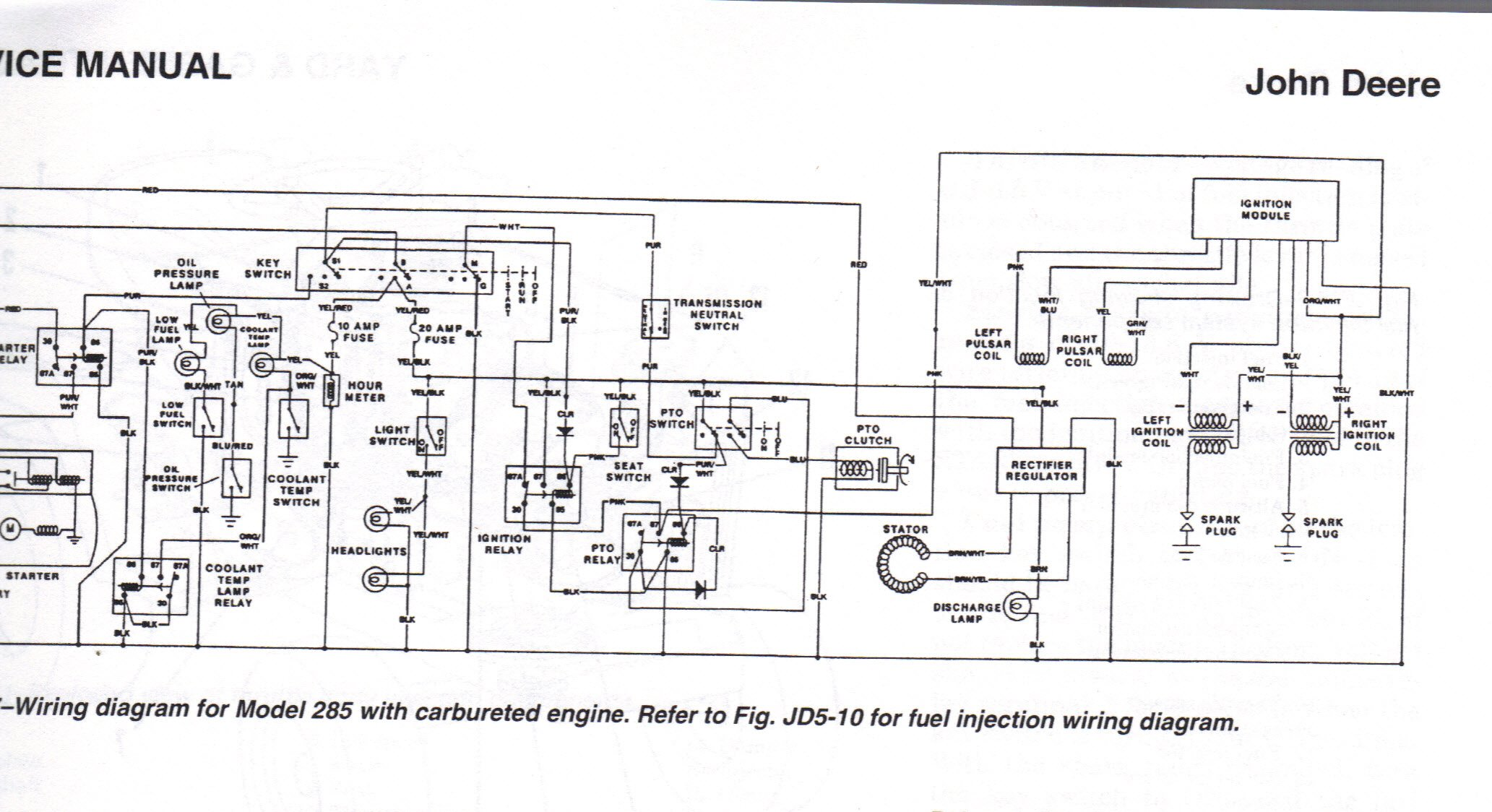 John Deere L120 Wiring Schematic Simple Electronic Circuits