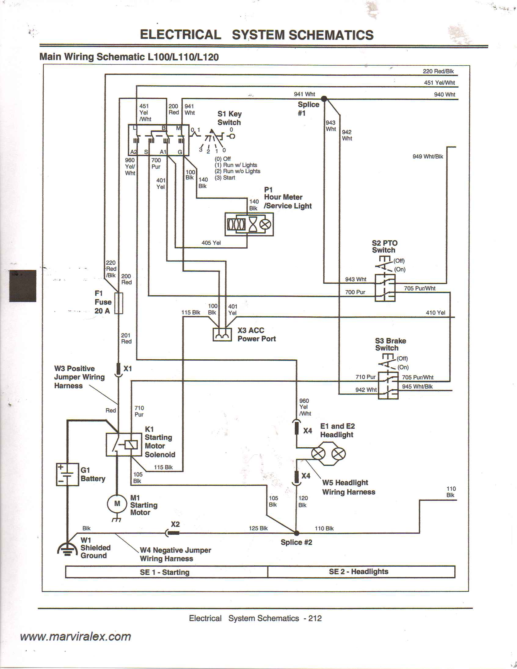 John Deere L110 Wiring Diagram on john deere wiring schematics