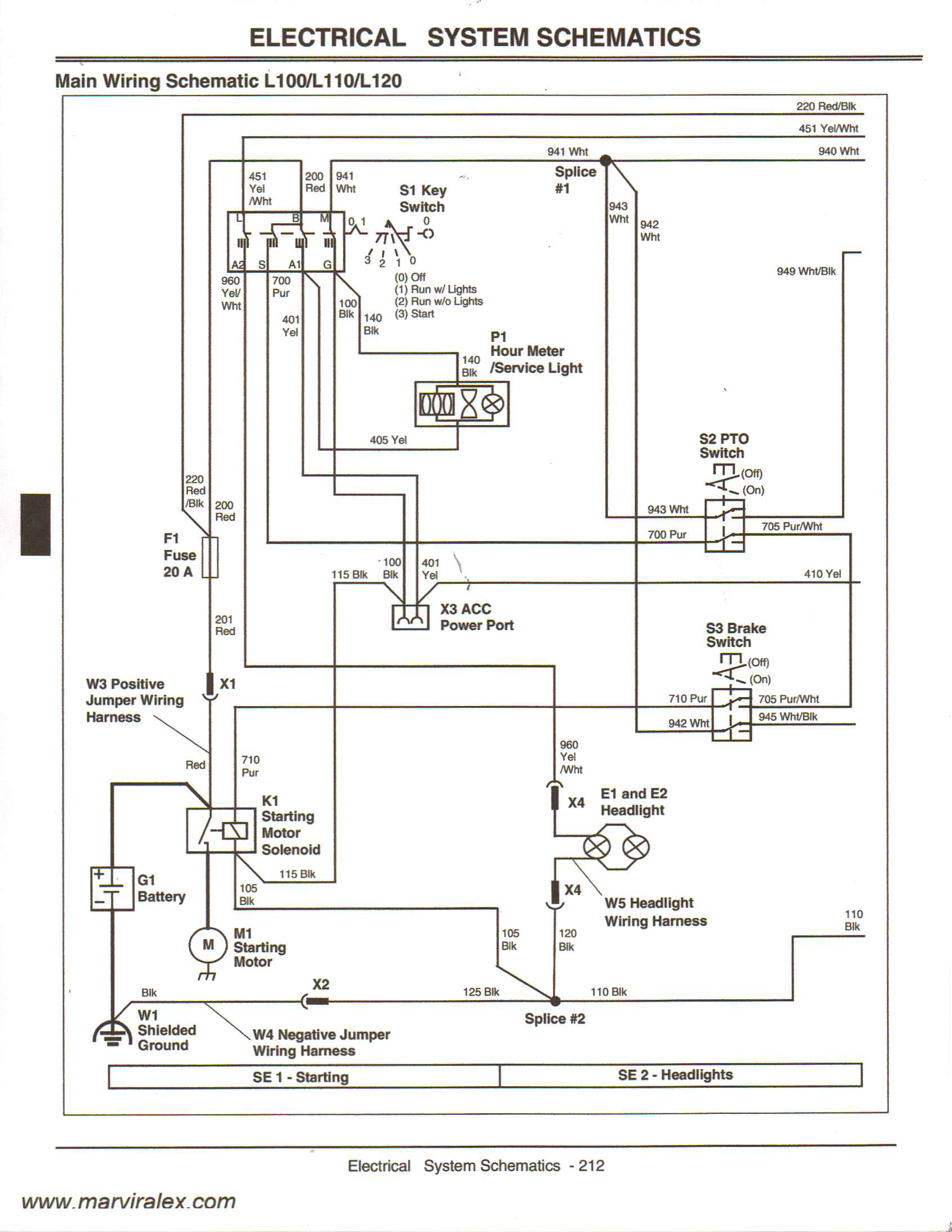 wiring diagram for 317 john deere