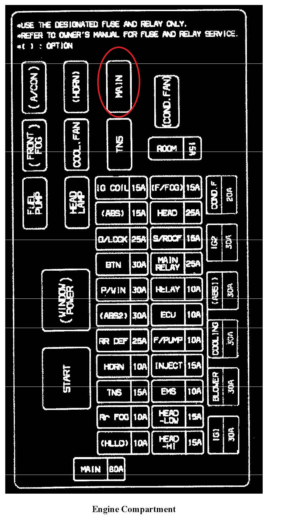2008 kia sorento fuse box diagram imageresizertool com. Black Bedroom Furniture Sets. Home Design Ideas