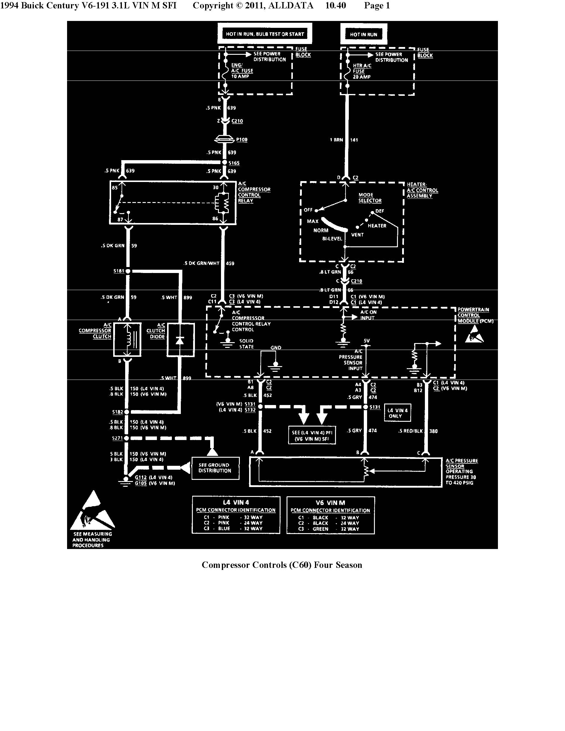 ac relay wiring how do i re-engage the a/c compressor clutch on a '94 ... ac power relay wiring diagram #15