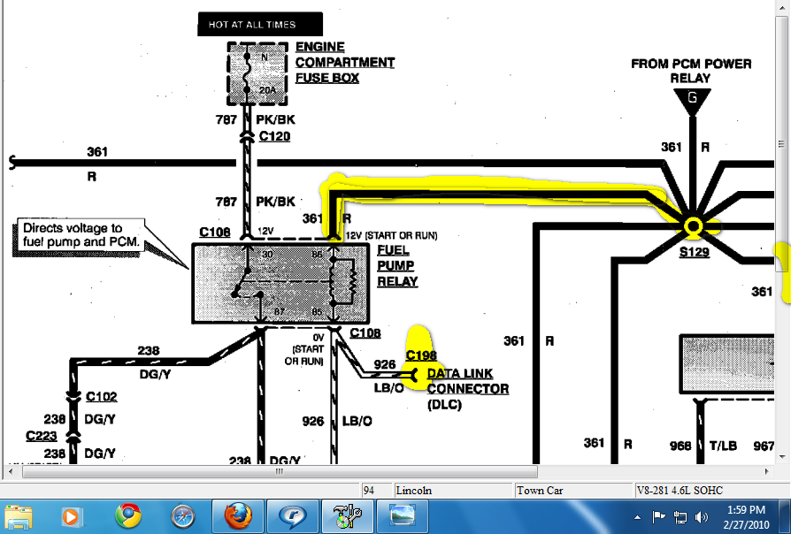 Wiring Diagram For 1994 Lincoln Town Car : Lincoln town car ac wiring diagram get free image