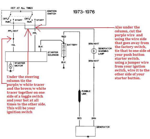1973 chevy starter wiring diagram i have a 1976 grumman box truck. i would like to know how ... 1973 chevy truck wiring diagram
