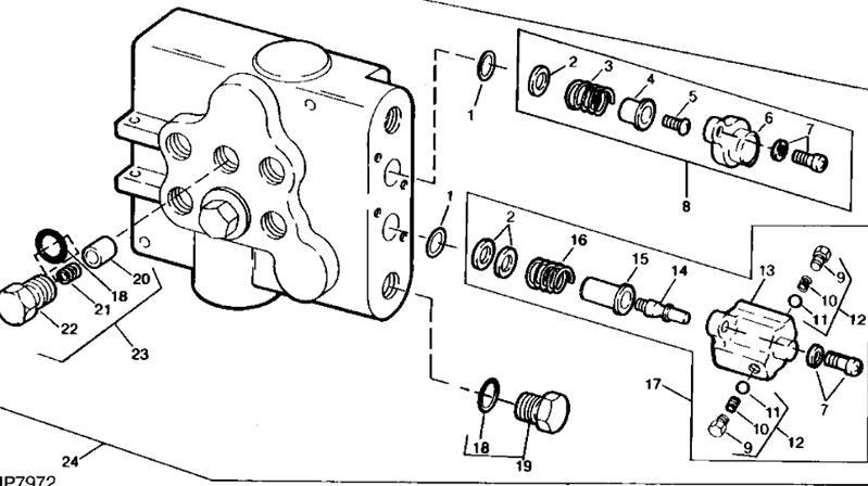 John Deere 318 Mower Deck Parts Diagram