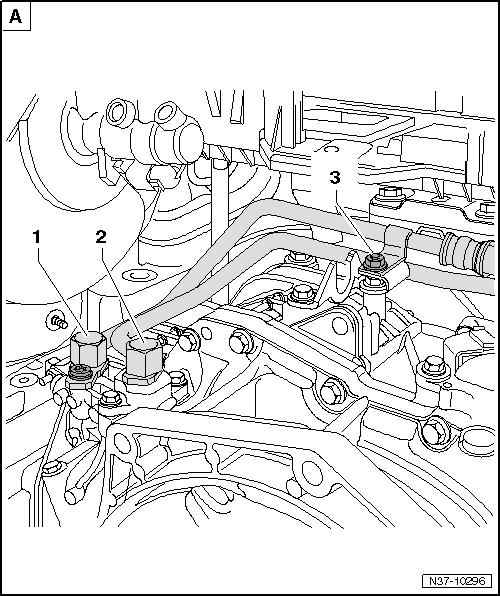 2008 volkswagen passat tranmission cooling line