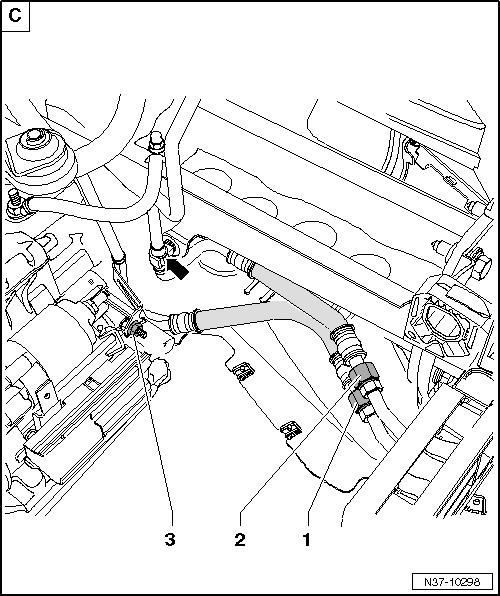 1993 Volkswagen Passat Transmission: [2008 Volkswagen Passat Tranmission Cooling Line