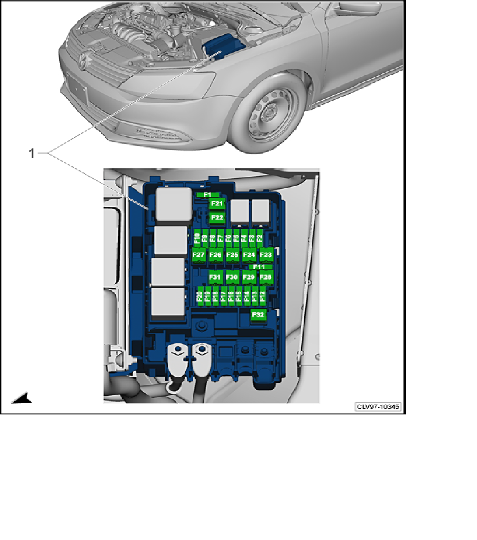 i need a fuse box diagram for a 2011 volkswagen jetta se