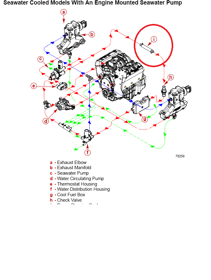 MERCRUISER ENGINE WIRING DIAGRAM - ELECTRIC MX TL on