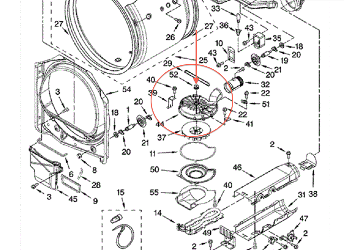 2007 Chrysler Pacifica Motor Mount Diagram likewise  in addition Hidden Pain as well 5j2yd Jd Lx178 Tonight Things Happen My Steering furthermore 7plvr Matag Bravos 300 Quiet Series Model Med8400vq0 Dryer No Air. on the front fell off
