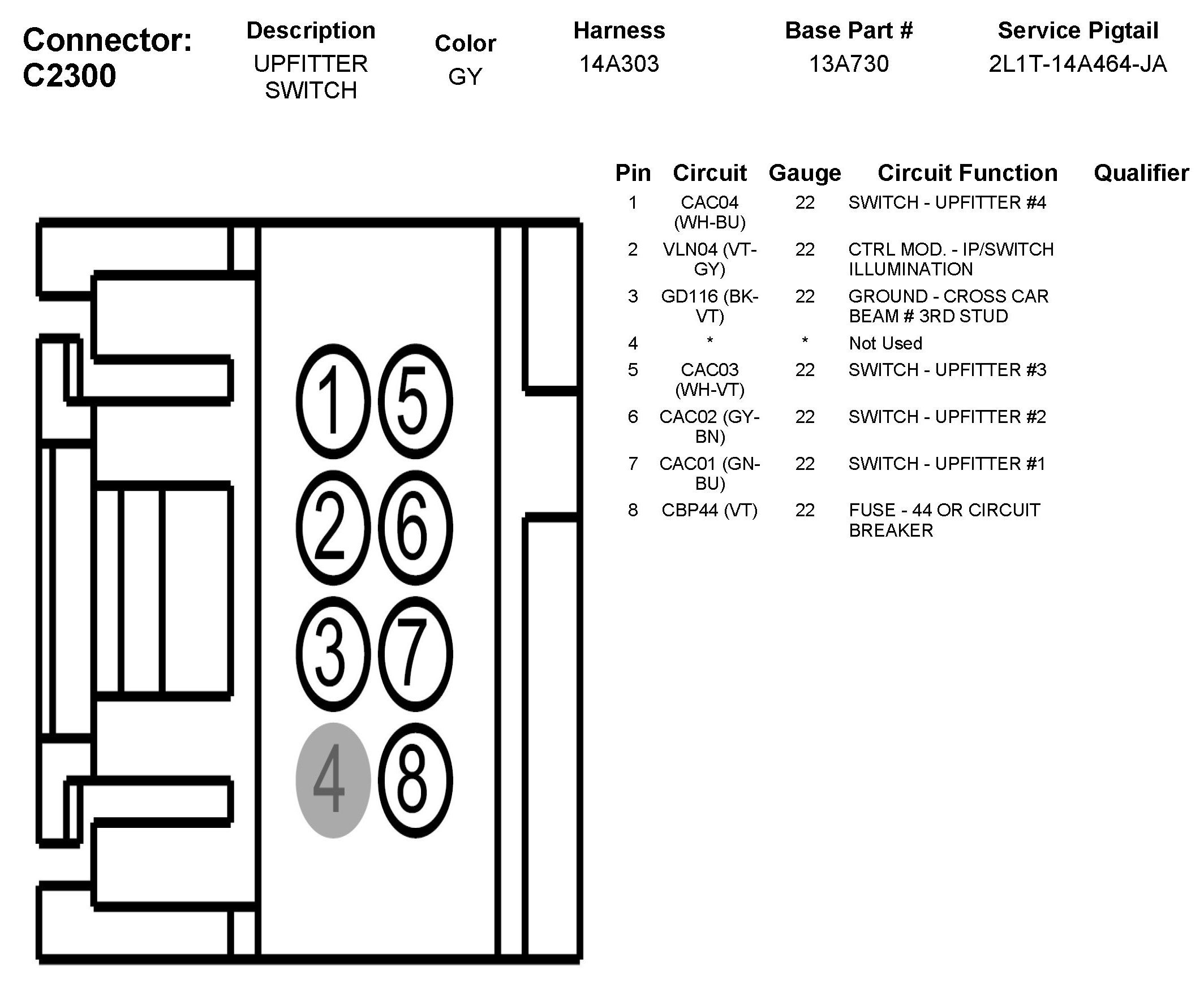 Super Duty Upfitter Switch Wiring Diagram Html
