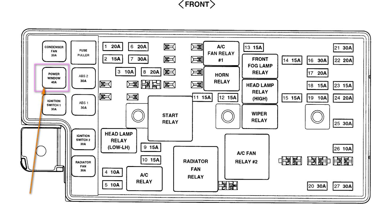 diagram of 2006 hyundai elantra fuse box  diagram  get