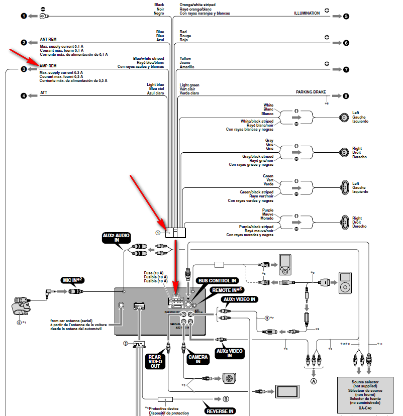 sony xav 64bt wiring diagram sony automotive wiring diagrams