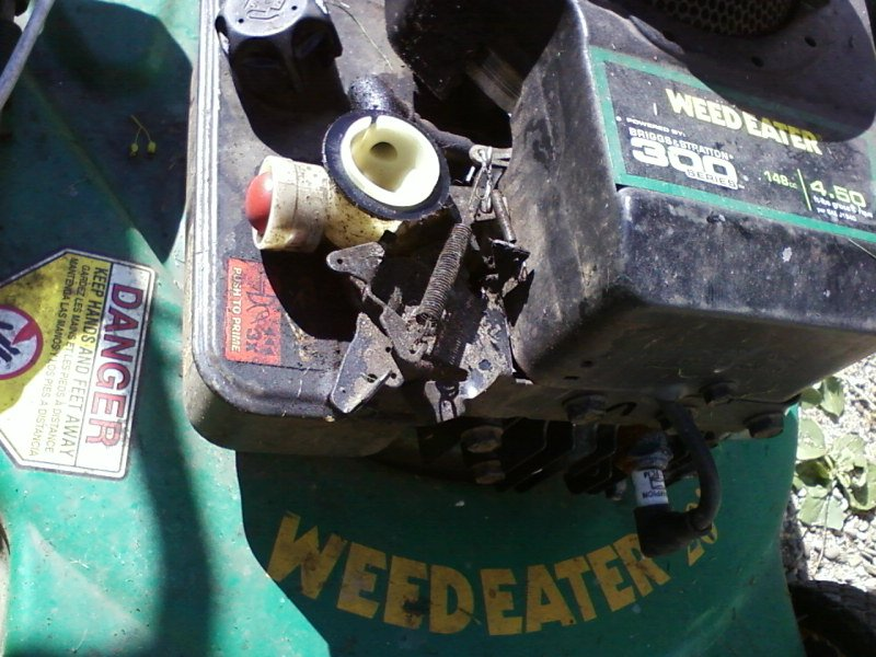 The Pull Starter Rope For My Weedeater Lawn Mower Model