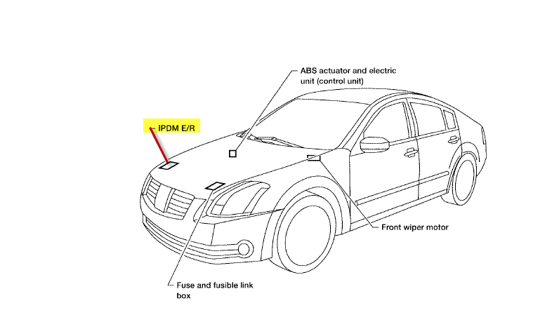 2006 nissan maxima se    this past weekend we were driving when all of a sudden the dash lights