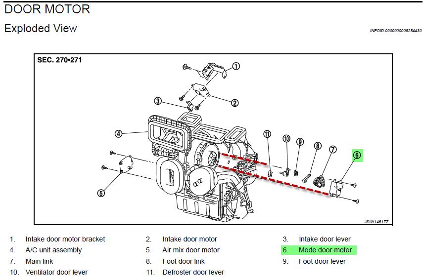 2008 nissan quest blower motor resistor location  2008
