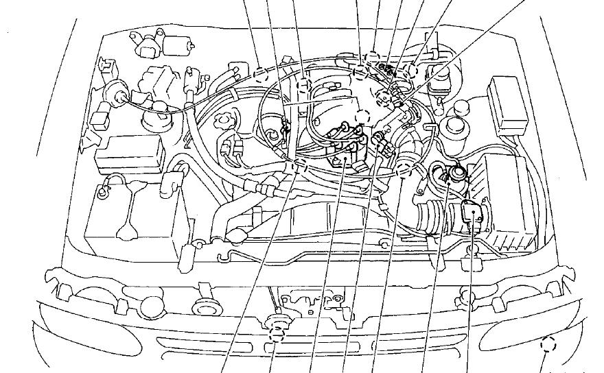 2005 Nissan pathfinder transmission cooler diagram