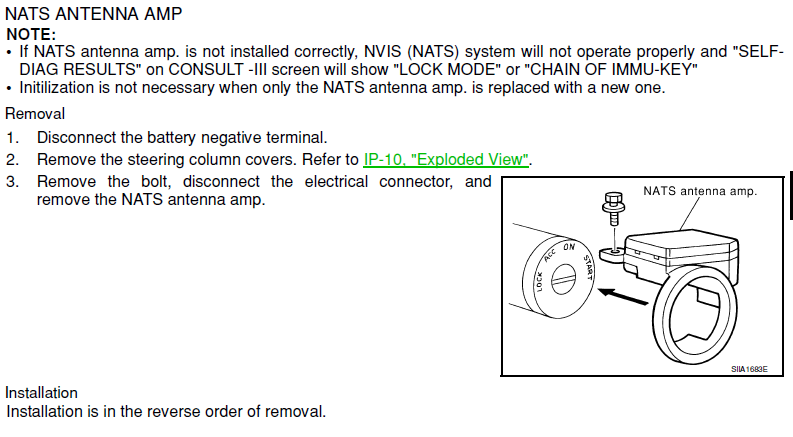 nats key code for 2002 altima