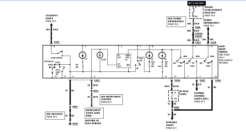 95 Ford F53 Alternator Wiring | Wiring Diagram  Ford Alternator Wiring Diagram on