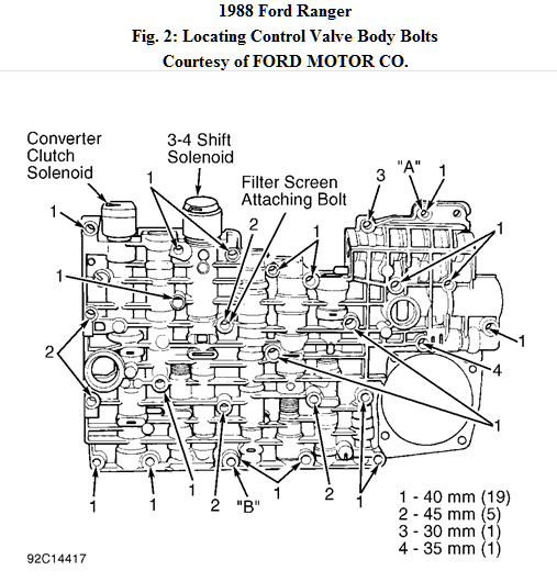 Ford       Ranger    A4ld Automatic    Transmission     Wiring    Diagram
