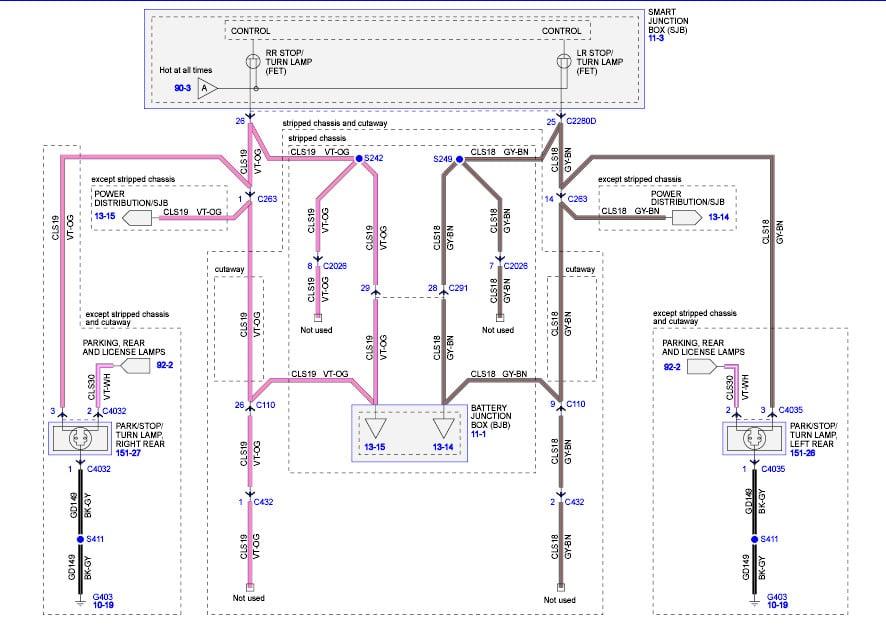 Eafa E D E Ef E D furthermore Ferris Jm Car Radio Cassette Player also Qu furthermore Original moreover A. on ford e 450 wiring diagram