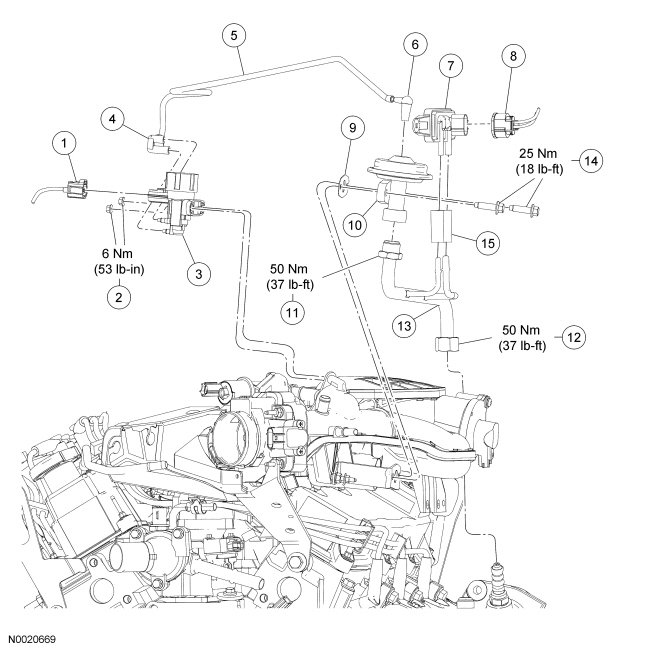 97 ford ranger temperature sensor location