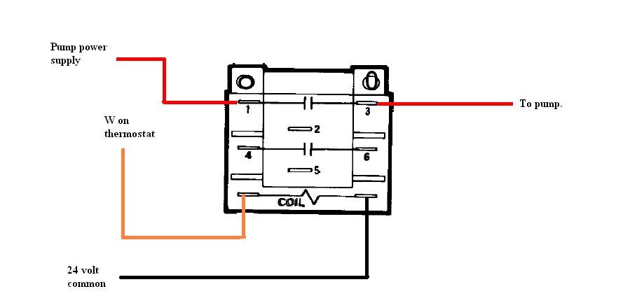 dpdt relay wiring diagram dpdt image wiring diagram how do i wire a honeywell r4222 d 1013 dpdt relay to operate on dpdt relay