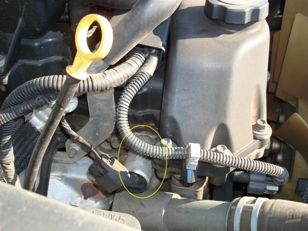 Cam Solenoid Gm on Chevy Crankshaft Sensor Location 08