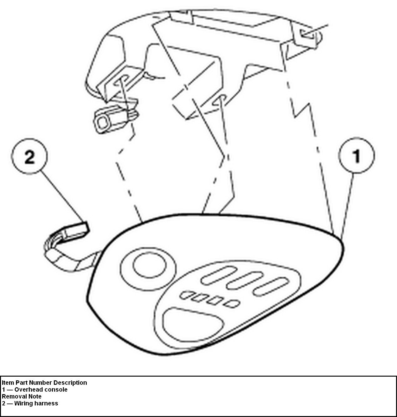 317157 How To Remove Ford F250 Overhead Console also 2011 Mitsubishi Galant Interior Parts further  on ford f 150 overhead console removal