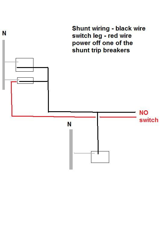 wiring diagram for shunt trip circuit breaker get free image about wiring diagram