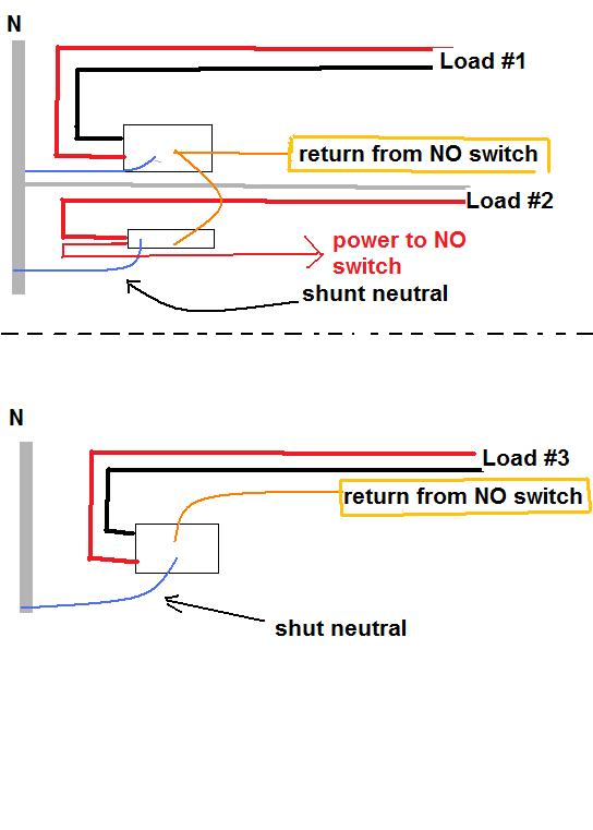 wiring diagram for shunt trip circuit breaker the wiring diagram i have a 3 shunt trip breakers to install for an office kitchen wiring